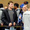 "New CU quarterback Connor Wood, watches players workout for the scouts.<br /> University of Colorado football players showed their skills to NFL scouts on Thursday during CU pro timing day.<br /> For a video and more photos of timing day, go to  <a href=""http://www.dailycamera.com"">http://www.dailycamera.com</a>.<br /> Cliff Grassmick / March 8, 2012"