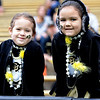 "Gabriella Garwood, 4, left, and her sister, Isabella, 5, had as much CU gear on as possible for the Spring game on Saturday.<br /> For more photos of the game, go to  <a href=""http://www.dailycamera.com"">http://www.dailycamera.com</a><br /> Cliff Grassmick / April 14, 2012"