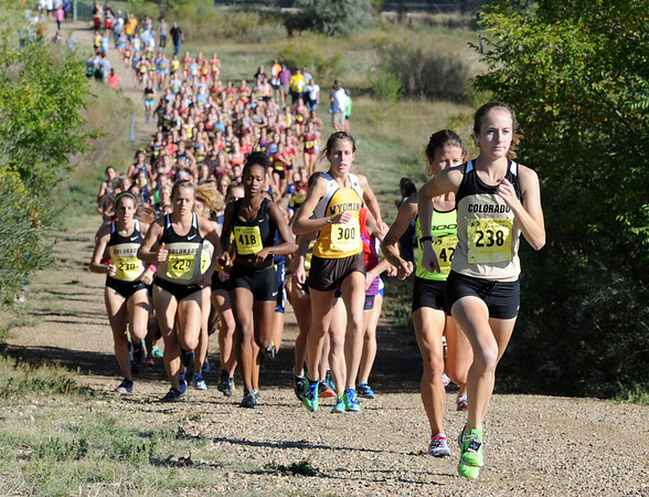 "The University of Colorado women finished strong in the Rocky Mountain Shootout on Saturday.<br /> For more photos of the race, got to  <a href=""http://www.dailycamera.com"">http://www.dailycamera.com</a>.<br /> Cliff Grassmick  / September 29, 2012"