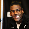 "University of Colorado basketball player, Alec Burks, announced that he will  leave CU and enter the NBA draft. For more photos and videos of Burks, go to  <a href=""http://www.dailycamera.com"">http://www.dailycamera.com</a>.<br /> Cliff Grassmick/ April 21, 2011"