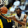Colorado Baylor184.JPG Alec Burks of CU does the up and under lay up past Ekpe Udoh of Baylor.<br /> <br /> Cliff Grassmick / January 12, 2010