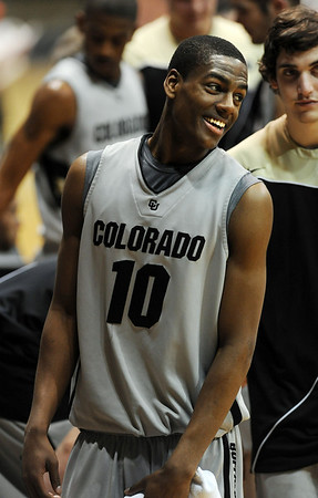 "Colorado Texas Tech237.JPG Alec Burks becomes the all time freshman scorer at CU.<br /> For more basketball photos, go to photo galleries at  <a href=""http://www.dailycamera.com"">http://www.dailycamera.com</a>.<br /> Cliff Grassmick / March 6, 2010"