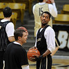 "Cory Higgins during Tuesday's NIT practice.<br /> For more photos and a video interview, go to  <a href=""http://www.dailycamera.com"">http://www.dailycamera.com</a>.<br /> Cliff Grassmick / March 15, 2011"