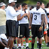 "Jon Embree and Doug Rippy talks during practice on Saturday.<br /> For more photos and videos of media day,  go to  <a href=""http://www.dailycamera.com"">http://www.dailycamera.com</a>.<br /> Cliff Grassmick / August 11, 2012"