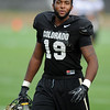 "Davien Payne at CU practice on Saturday.<br /> For more photos and videos of media day,  go to  <a href=""http://www.dailycamera.com"">http://www.dailycamera.com</a>.<br /> Cliff Grassmick / August 11, 2012"
