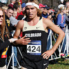 Colorado's Pierce Murphy (424) runs in the Men's 2012 Division 1 Cross Country Championships at E.P. Tom Sawyer Park  in Louisville, Kentucky.       November 17, 2012