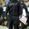 "OC Eric Bieniemy watches the CU offense against ASU.<br /> For more photos of the game, go to  <a href=""http://www.dailycamera.com"">http://www.dailycamera.com</a><br /> Cliff Grassmick / October 11, 2012"