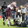 "University of Colorado's Parker Orms misses a tackle on Jamal Miles during a game against Arizona State on Thursday, Oct. 11, at Folsom Field in Boulder. Fore more photos of the game go to  <a href=""http://www.dailycamera.com"">http://www.dailycamera.com</a><br /> Jeremy Papasso/ Camera"