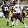"Marion Grice of ASU scores the Devils first TD against CU.<br /> For more photos of the game, go to  <a href=""http://www.dailycamera.com"">http://www.dailycamera.com</a><br /> Cliff Grassmick / October 11, 2012"