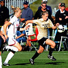 Nikki Marshall of CU attacks the goal against Oklahoma on Friday.<br /> Cliff Grassmick / October 2, 2009