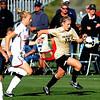 Nikki Marshall of CU attacks the goal against Oklahoma on Friday.<br /> Cliff Grassmick / October 2, 2009