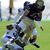 Arthur Jaffee of CU had two good kick returns against Missouri.<br /> Cliff Grassmick / October 31, 2009