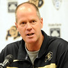 "Colorado head basketball coach, Tad Boyle, talks to the press about the new season during media day on Wednesday.<br /> For videos and photos of media day, go to  <a href=""http://www.dailycamera.com"">http://www.dailycamera.com</a><br /> Cliff Grassmick / October 26, 2011"