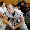 Ryan Miller at CU media day on Saturday.<br /> Cliff Grassmick / August 7, 2010
