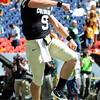 "CU QB, Tyler Hansen celebrates his TD run to give Colorado their first points against CSU.<br /> For more photos of the CU game, go to  <a href=""http://www.dailycamera.com"">http://www.dailycamera.com</a>.<br />  Cliff Grassmick / September 17, 2011"
