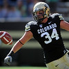"Ryan Deehan of CU, celebrates a TD catch against Cal.<br /> For more photos of the CU game, go to  <a href=""http://www.dailycamera.com"">http://www.dailycamera.com</a>.<br /> Cliff Grassmick / September 10, 2011"