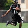 "University of Colorado's Keenan Canty makes a catch during the second football practice of the fall camp on Tuesday, Aug. 7, at the CU practice field in Boulder. For more photos of the practice go to  <a href=""http://www.dailycamera.com"">http://www.dailycamera.com</a><br /> Jeremy Papasso/ Camera"