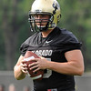 "University of Colorado's Keegan LaMar during the second football practice of the fall camp on Tuesday, Aug. 7, at the CU practice field in Boulder. For more photos of the practice go to  <a href=""http://www.dailycamera.com"">http://www.dailycamera.com</a><br /> Jeremy Papasso/ Camera"