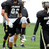 "University of Colorado's Jarrod Darden on Monday, April 2, during spring football practice at the CU practice field on campus in Boulder. For more photos of practice go to  <a href=""http://www.dailycamera.com"">http://www.dailycamera.com</a><br />  Jeremy Papasso/ Camera"