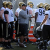 "New assistant coach Mike Tuiasosopo at the first practice.<br /> For a videos and photos of the practice, go to  <a href=""http://www.dailycamera.com"">http://www.dailycamera.com</a>.<br /> Cliff Grassmick/ March 11, 2011"