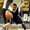"#2 Shannon Sharpe guards #1 Nate Tomlinson during the University of Colorado Men's basketball team practice Tuesday morning October 19, 2010 at the Coors Events Center on the CU Boulder Campus. FOR MORE PHOTOS GO TO  <a href=""http://WWW.DAILYCAMERA.COM"">http://WWW.DAILYCAMERA.COM</a>"