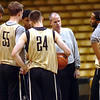"Head Coach Tad Boyle addresses the team during the University of Colorado Men's basketball team practice Tuesday morning October 19, 2010 at the Coors Events Center on the CU Boulder Campus. FOR MORE PHOTOS GO TO  <a href=""http://WWW.DAILYCAMERA.COM"">http://WWW.DAILYCAMERA.COM</a>"