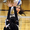 "Kelsey English of CU, gets a shot past Amanda Brown of Oregon State.<br /> For more photos of the game, go to  <a href=""http://www.dailycamera.com"">http://www.dailycamera.com</a>.<br /> Cliff Grassmick / October 28, 2012"
