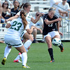 "Anne Stuller of CU  scores a goal on this kick against Wright State on Sunday.<br /> For more photos of the game, go to  <a href=""http://www.dailycamera.com"">http://www.dailycamera.com</a>.<br /> Cliff Grassmick  / August 26, 2012"