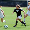 "Madison Krauser (4)  of CU, tries to get past Jessica Stauffer of Wright State during Sunday's game.<br /> For more photos of the game, go to  <a href=""http://www.dailycamera.com"">http://www.dailycamera.com</a>.<br /> Cliff Grassmick  / August 26, 2012"