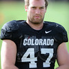 "Alex Wood gets ready for Spring practice on Sunday.<br /> For more photos and videos of CU football, go to  <a href=""http://www.dailycamera.com"">http://www.dailycamera.com</a>.<br /> Cliff Grassmick / March 18, 2012"
