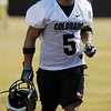 """Rodney """"Speedy"""" Stewart during spring practice.<br /> For more football photos, go to photo galleries at  <a href=""""http://www.dailycamera.com"""">http://www.dailycamera.com</a>.<br /> Cliff Grassmick / March 6, 2010"""