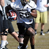 "Brian Lockridge during CU spring practice.<br /> For more football photos, go to photo galleries at  <a href=""http://www.dailycamera.com"">http://www.dailycamera.com</a>.<br /> Cliff Grassmick / March 6, 2010"