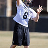 """New QB Nick Hirschman during CU spring drills.<br /> For more football photos, go to photo galleries at  <a href=""""http://www.dailycamera.com"""">http://www.dailycamera.com</a>.<br /> Cliff Grassmick / March 6, 2010"""