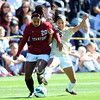 "Mariah Noguiera, left,  of Stanford, and Olivia Pappalardo of CU, battle for possession of the ball.<br /> For more photos of the game, go to  <a href=""http://www.dailycamera.com"">http://www.dailycamera.com</a>.<br /> Cliff Grassmick  / October 7, 2012"