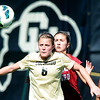 "Hayley Hughes (6) of CU, gets position on Hannah Farr of Stanford.<br /> For more photos of the game, go to  <a href=""http://www.dailycamera.com"">http://www.dailycamera.com</a>.<br /> Cliff Grassmick  / October 7, 2012"