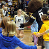 "CU senior, Michelle Miller, is introduced for the last time in Boulder on CU Senior Night.For more photos of the game, go to  <a href=""http://www.dailycamera.com"">http://www.dailycamera.com</a>.<br /> Cliff Grassmick / November 10, 2012"