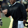 "OC, Eric Bieniemy gives encouragement to his team on Friday.<br /> For more photos of the CU game, go to  <a href=""http://www.dailycamera.com"">http://www.dailycamera.com</a><br /> Cliff Grassmick / November 23, 2012"