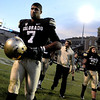 "CU senior Ray Polk walks off Folsom Field as a player for the last time.<br /> For more photos of the CU game, go to  <a href=""http://www.dailycamera.com"">http://www.dailycamera.com</a><br /> Cliff Grassmick / November 23, 2012"