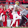 fans_photo<br /> Id: 119404<br /> CU's Paul Richardson takes a Cody Hawkins pass for 50 yards and a touchdown as NU's Alfonzo Dennard tries to stop him in the third quarter.<br /> Nebraska Huskers vs. University of Colorado Buffaloes in Lincoln, Neb., on Nov. 26, 2010.<br /> (JEFF BEIERMANN/THE WORLD-HERALD)<br /> NU UNL CU