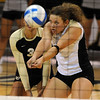 Richi Bigelow of CU gets the ball up against Furman.<br /> Cliff Grassmick / August 27, 2010