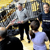 "New freshman, Lexy Kresl, left, and Chucky Jeffery, talk to the media on CU media day on Wednesday.<br /> For videos and photos of media day, go to  <a href=""http://www.dailycamera.com"">http://www.dailycamera.com</a><br /> Cliff Grassmick / October 26, 2011"