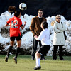 CU AD Mike Bohn and Ceal Barry watch the CU-Texas Tech soccer game on Friday.<br /> Cliff Grassmick / October 30, 2009
