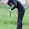 """Jessica Wallace of CU reacts to a missed putt at hole 16 during the 3rd round of the West Regional.<br /> For more photos of the 3rd round, go to  <a href=""""http://www.dailycamera.com"""">http://www.dailycamera.com</a>.<br /> Cliff Grassmick / May 12, 2012"""