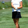 "Emily Talley of CU watches her drive at  hole 18 on Thursday.<br /> For more photos of the West Regional, go to  <a href=""http://www.dailycamera.com"">http://www.dailycamera.com</a><br /> Cliff Grassmick / May 10, 2012"