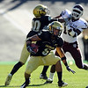 "Rodney Stewart of Colorado had two touchdowns against Texas A & M on Saturday to help the Buffs win 35-34.<br /> For more photos from the game, go to  <a href=""http://www.dailycamera.com"">http://www.dailycamera.com</a>.<br /> Cliff Grassmick / November 7, 2009"
