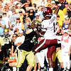 "B.J Beaty of CU puts pressure on Jerrod Johnson of Texas A & M.<br /> For more photos from the game, go to  <a href=""http://www.dailycamera.com"">http://www.dailycamera.com</a>.<br /> Cliff Grassmick / November 7, 2009"