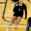 "Elysse Richardson of CU, celebrates a point against CSU-Bakersfield.<br /> For more photos of the game, go to  <a href=""http://www.dailycamera.com"">http://www.dailycamera.com</a><br /> Cliff Grassmick / September 15, 2012"