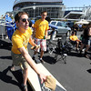 "CU students, Macklin Scheldrop, left, and Brian Mulligan, play bags before the CU CSU game at Sports Authority Field in Denver on Saturday.before the CU CSU game at Sports Authority Field in Denver on Saturday.<br /> For more photos of the game, go to  <a href=""http://www.dailycamera.com"">http://www.dailycamera.com</a>.<br /> Cliff Grassmick / September 1, 2012"