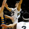 "University of Colorado's Sabatino Chen takes a shot during a game against Fort Lewis College on Friday, Nov. 11, at the Coors Event Center on the CU campus in Boulder. CU won the game 85-57. For more photos of the game go to  <a href=""http://www.dailycamera.com"">http://www.dailycamera.com</a><br /> Jeremy Papasso/ Camera"