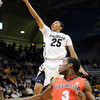 Spencer Dinwiddie of CU drives for a score against Georgia.<br /> <br />  November 28, 2011 / Cliff Grassmick